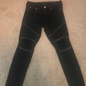 PAC sun moto ripped jeans